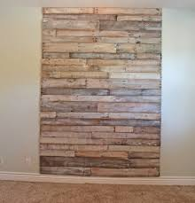 Big Whitewash Headboard Of Pallets Via Theroosterandthehen