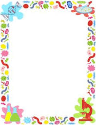 Free Biology Border Templates Including Printable Paper And Clip Art Versions File Formats Include GIF JPG PDF PNG