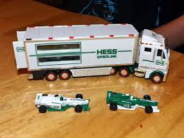December 2013 Evan And Laurens Cool Blog 2113 Hess Toy Truck Tractor 2013 Photo Story A Museum Apopriately Enough On Wheels Celebrates The Missys Product Reviews Hess Dragster Holiday Gift Childhoodreamer Nib Box Has Damaged Corners Ends Vintage 1988 Racer 2000 Pclick Sp Custom Hot Wheels Diecast Cars Trucks Gas Station Toy Truck 2014 Only 3600 Fun For Collectors The 2017 Are Minis Mommies With Style
