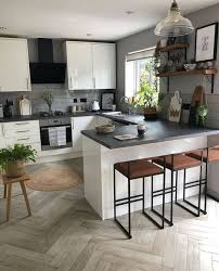24 küche mit theke ideen küchendesign haus küchen küche