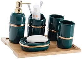 gsagjysb keramik badezimmer set 5 teiliges set badezimmer