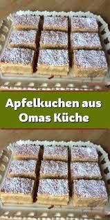 apfelkuchen aus omas küche kuchen und torten rezepte