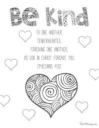 11 Bible Verses To Teach Kids With Printables To Color