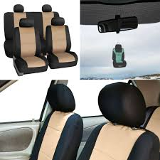 100 Neoprene Truck Seat Covers Details About Full Set For Auto Car SUV Coupe Beige W Gift