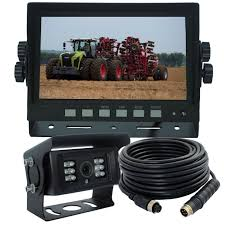 Truck Reversing & Side View Camera With 7