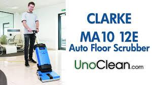Clarke Floor Scrubber Batteries by Clarke Ma10 Upright Floor Scrubber Updated Demo Youtube
