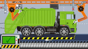 New Garbage Truck | Toy Factory | Video For Kids - Nowa śmieciarka Z ...