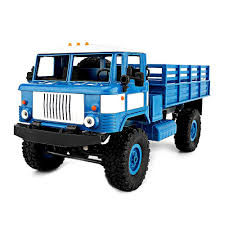 Wpl 1:16 Rc Climbing Military Truck Mini 2.4g 4wd Off Road Rc Cars ...