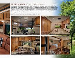 Class C Motorhome With Bunk Beds by 2013 Coachmen Freelander Class C Motorhome