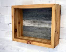 Reclaimed Cedar Shadow Box 19 X 15 6 For Wedding Bouquet