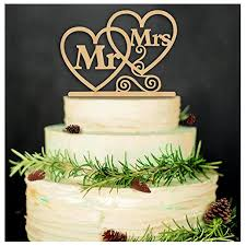 HOT SALE Rustic Wedding Cake Topper Mr And Mrs Style 38 In Decorating Supplies From Home Garden On Aliexpress