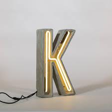 Letter Light Number 4 The Vintage Industrial
