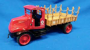 100 Texaco Toy Truck Buffalo Road Imports Mack Model AC Stakebed W Baseball Cap