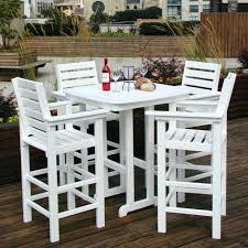 Bar Height Bistro Patio Set by Patio Ideas 3 Piece Bar Height Patio Bistro Set Bar Height Patio