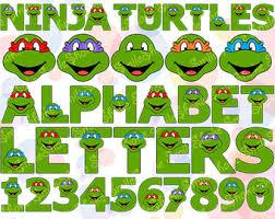 Ninja Turtle Decorations Nz by Mutant Ninja Turtles Etsy