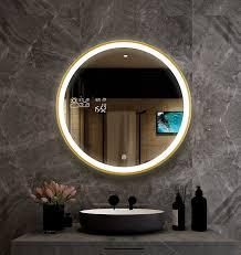 runde smart badezimmerspiegel