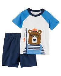 Display Product Reviews For 2 Piece Jersey Tee French Terry Short Set