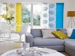 grey yellow blue living room peenmedia