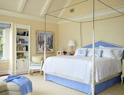 Restful Blue And White Bedroom