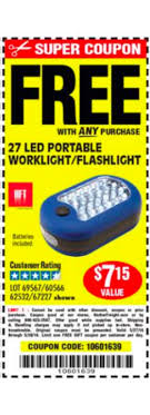 Harbor Freight Free 27 Led Flashlight Coupon - Portable Dvd Player ... Free Birthday Meals 2019 Restaurant W Food On Your Latest Pizza Coupons For Dominos Hut More Bob Evans Coupon Coupon Codes Discounts Any Product 25 Restaurants Gift Card 2 Pk Top 10 Punto Medio Noticias Fanatics April Carryout Menu Code Processing Services Oxford Mermaid Swim Tails Bob Evans Mashed Potatoes Presentation Assistant Monica Vinader Voucher Codes Military Discount Bogo Coupons 2018 Buy Fifa T Mobile Printable Side Dishes Only 121 At Walmart The Krazy Lady