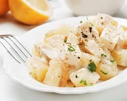 cuisiner la pomme de terre recette salade de pommes de terre froide