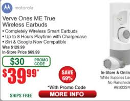 Motorola Verve ME $39.99 With Promo Code @ Fry's Electronics ... Motorola Rve Me 3999 With Promo Code Frys Electronics Frysfoodcom Food Pharmacy Reviews Coupons Rx Drug Stores Coupon Matchups Mylitter One Deal At A Time 20 Off Instore Purchase Tuesday 219 Instoreusa Off Minimum Purchase Of 299 And Above Food Coupons Babies R Us Ami Email Exclusive Moto X4 Unlocked 299 Tax In Black Friday Ads Sales Doorbusters Deals 2018 San Diego Frys Best Sale Xmen First Class Aassins Creed 4k Blu Ray 999each Wpromo Code 30 The Edinburgh Jewellery Boutique Promo Discount While Supplies Last 65 4k Tv For 429 At Clark
