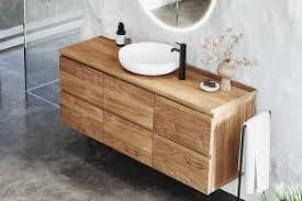 bad unterschränke waschtischunterschränke aus holz spa
