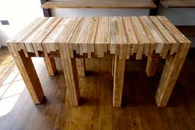 Butcher Block Kitchen Table Set Bobreuterstl Ideas