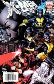 Cover Art For X Men Legacy 208 February 2008 By David Finch