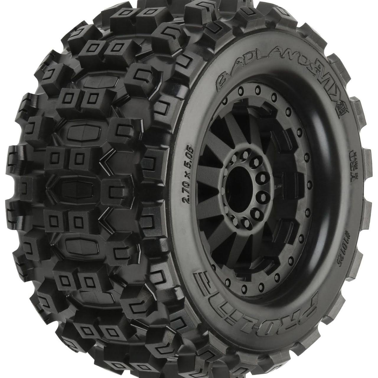 Pro-Line Badlands MX28 2.8 Pre-Mounted F-11 Wheels