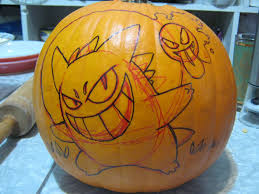 Pokemon Pumpkin Carving Templates by Gastly Pokemon Pumpkin Carving Patterns Images Pokemon Images