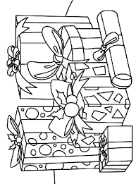 A Gift Of Giving Coloring Page