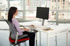 humanscale s quickstand workstation the sit stand converter for