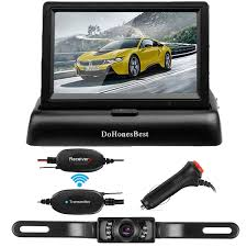 100 Best Backup Camera For Trucks Amazoncom Wireless Kit43 Color HD LCD Foldable