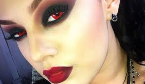 Blue Prescription Halloween Contacts by Total Blackout Black Sclera Contact Lenses Halloween Colored