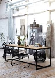 Chic Industrial Dining Room Design Ideas