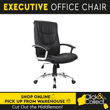 Details About Executive Office Computer Chair Recliner PU Leather Work Seat  Perth Pickup Luxury Pu Leather Executive Swivel Computer Chair Office Desk With Latch Recline Mechanism Brown Eliza Tinsley Black Belleze Highback Ergonomic Padded Arms Mocha Barton Economy Hydraulic Lift Senarai Harga Style Lifted Household Multi Heavy Duty Task Big And Tall Details About Rolling High Back Essentials Officecomputer Belleze Tilt Lumber Support Faux For Look Costway