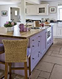Need Country Kitchen Decorating Ideas Take A Look At This With Purple Island For Inspiration Find More