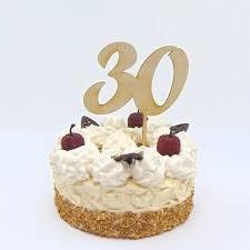 torten stecker zum 30 geburtstag aus holz zum 30 hochzeitstag cake topper ebay