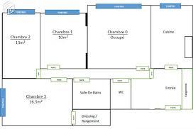 appartement 4 chambres chambre dans un grand appartement lumineux 4 pièces de 86 m au