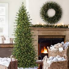 Pre Lit Pencil Christmas Trees by 9ft Christmas Tree Uk 8ft Aspen Luxury Premium Slim Pe