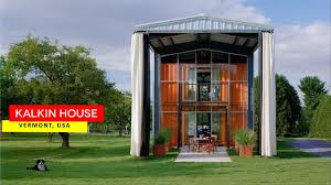 100 Adam Kalkin Architect House Shelburne Container Museum In Vermont YouTube