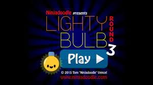 ninjadoodle lighty bulb 3 walkthrough