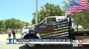 Memorial, Procession For Beloved Tow Truck Driver Killed On The Job ...