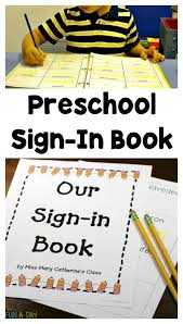 Printable Halloween Books For Preschoolers by Free Printable Sign In Book For Name Writing Practice