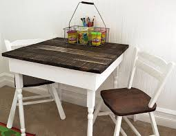 Cute Kids Furniture Made Of Wooden Pallets