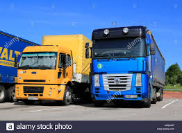 SALO, FINLAND - JUNE 15, 2014: Yellow Ford Cargo 1830 And Blue Stock ... Nizhny Novgorod Russia July 26 2014 White Semitrailer Truck Fs2015 Ford L9000 Semi Dyeable Truck Ford Defender Bumpers Cs Diesel Beardsley Mn File1948 F6 Cabover Coe Semi Tractor 02jpg Wikimedia Fatal Accident In Katy Sparks Driver Drug Alcohol Tests Jumps The Electric Bandwagon With New Fvision Salo Finland June 14 Yellow Cargo 1830 Trailer Trucks Wicks 2 Locations Serving Nebraska Tamiya 114 Aeromax Horizon Hobby