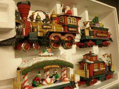 1011 New Bright G Scale Holiday Express Train Set On Christmas Tree