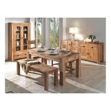 table à manger carré en chêne huilé fjord