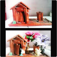 Paper House Craft Work